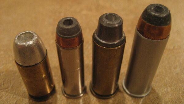 Разрывные пули разных калибров