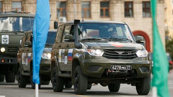 Международный конкурс Военное ралли в Волгоградской области