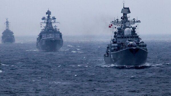 Корабли Тихоокеанского флота РФ