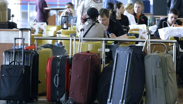 В аэропорту Шереметьево-2
