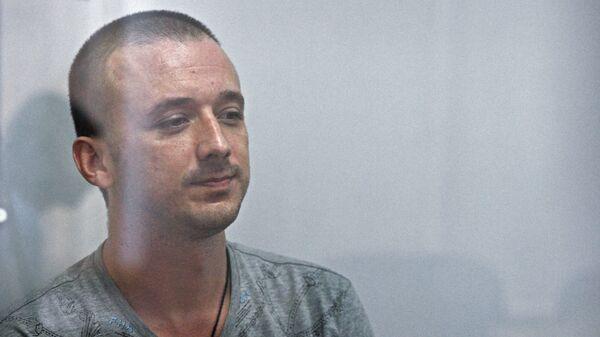 Максим Одинцов на заседании Дарницкого районного суда Киева