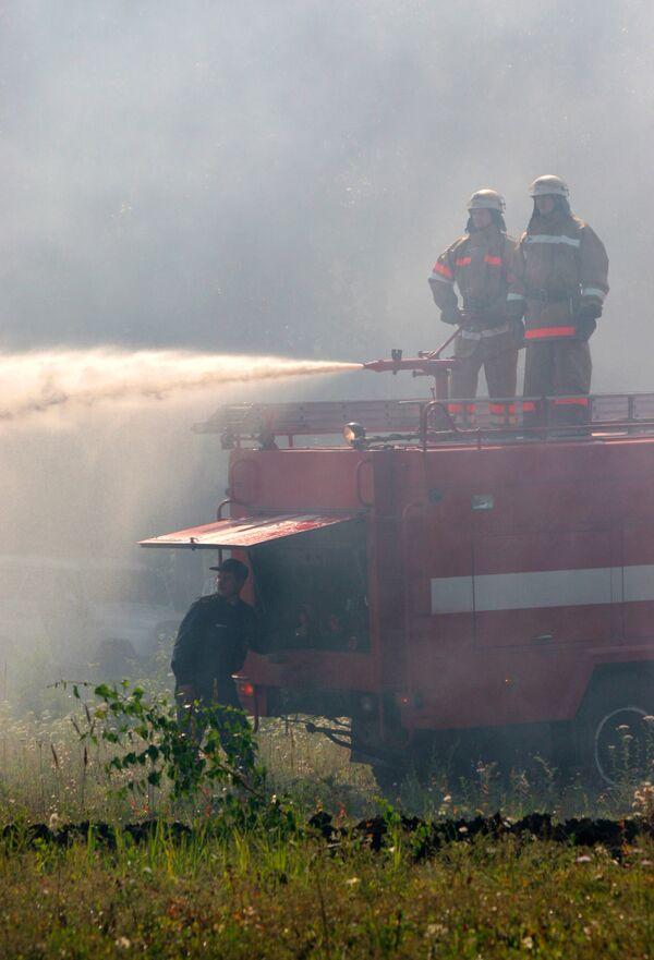 О пожаре в наркодиспансере в Талдыкоргане сообщили слишком поздно