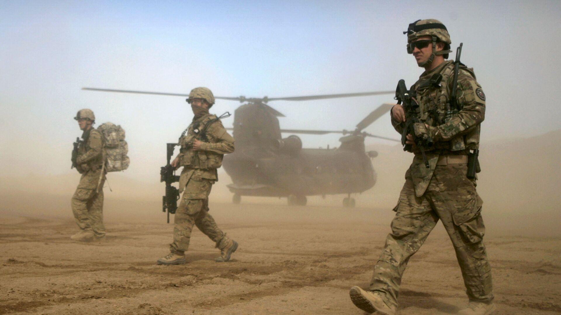 Военнослужащие США в Шинданде, Афганистан - РИА Новости, 1920, 15.01.2021