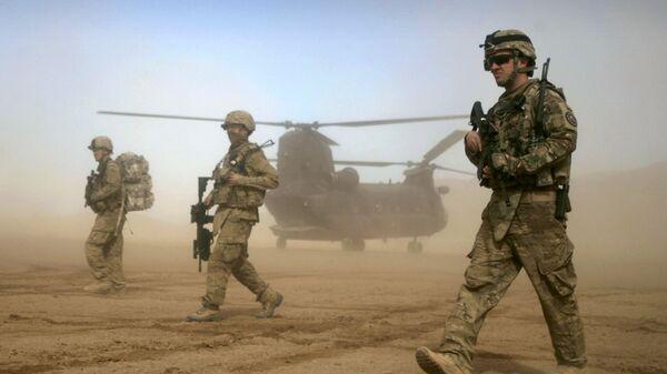 Военнослужащие США в Шинданде, Афганистан. Архивное фото