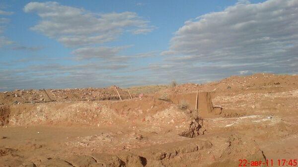 Археологические раскопки в Селитренном городище в Астраханской области