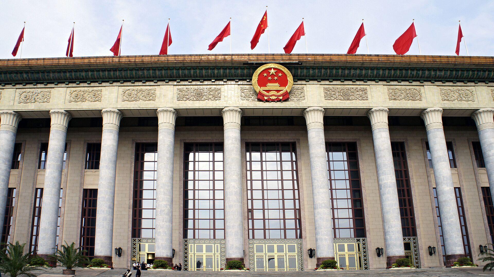 Здание китайского парламента в Пекине - РИА Новости, 1920, 10.06.2021