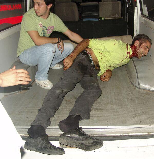Последствия теракта в Стамбуле 28 июля 2008 года