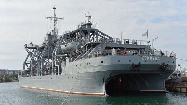 Судно-спасатель экипажей подводных лодок Коммуна Черноморского флота РФ