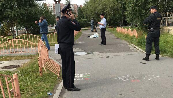 В Сургуте ликвидирован напавший с ножом на прохожих. 19 августа 2017