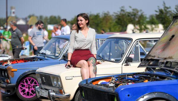 Участница Второго всероссийского фестиваля Жигулей Жи-Фест. 19 августа 2017