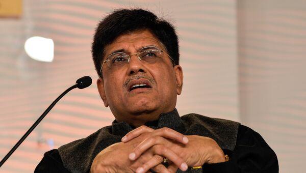 Министр энергетики Индии Пиюш Гоял. Архивное фото