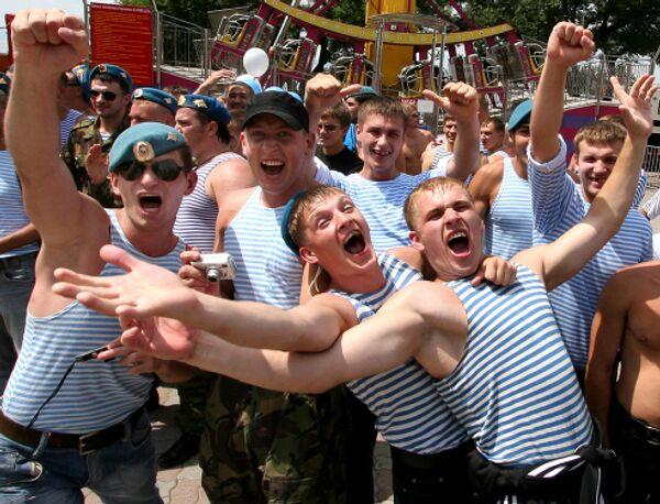 День ВДВ во Владивостоке