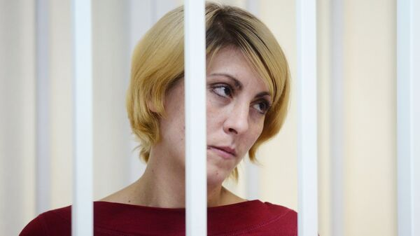 Ольга Алисова, сбившая насмерть шестилетнего мальчика в подмосковной Балашихе. Архвиное фото