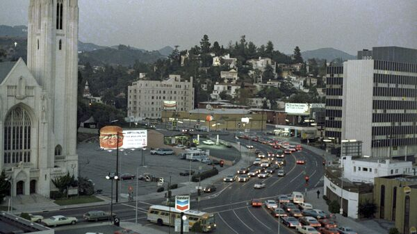 Лос-Анджелес. Архивное фото