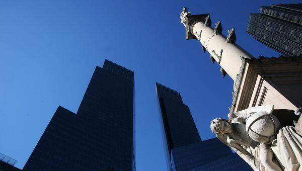Памятник Христофору Колумбу в Нью-Йорке. Архивное фото