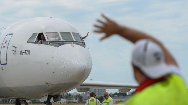 ВУфе приземлился самолет сотказавшим агрегатом | В РФ