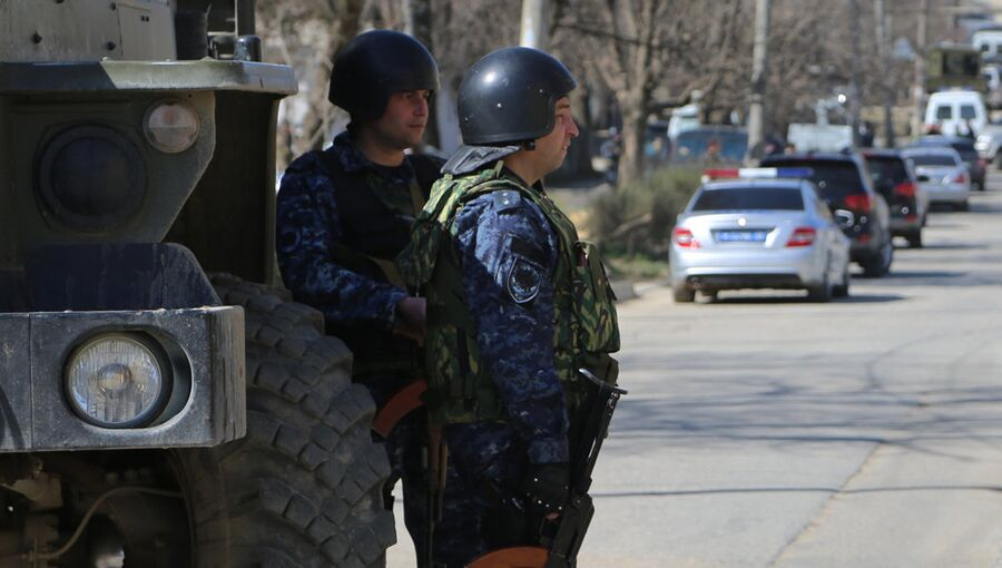 Сотрудники полиции Дагестана