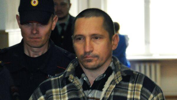 Сергей Егоров во время судебного заседания