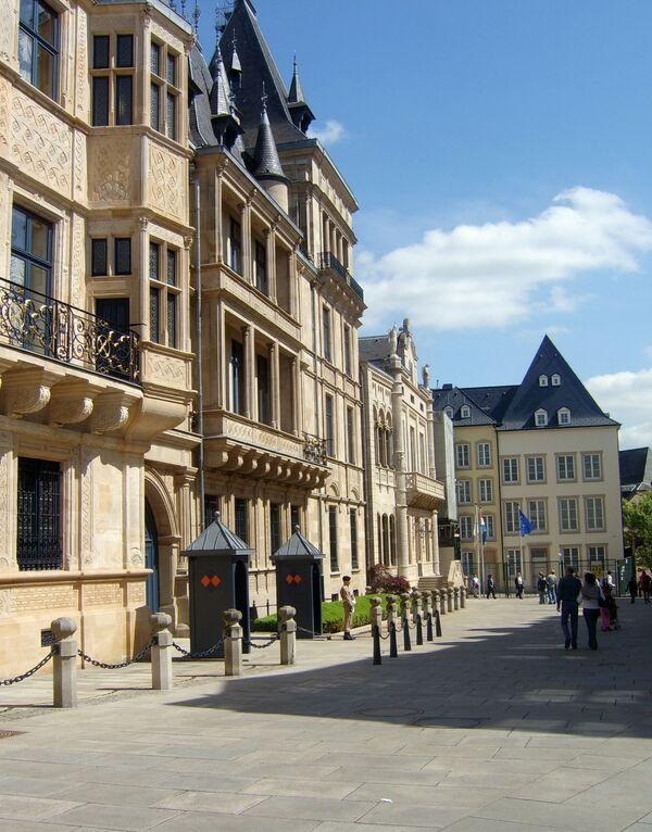 Люксембург. Дворец Великих Герцогов