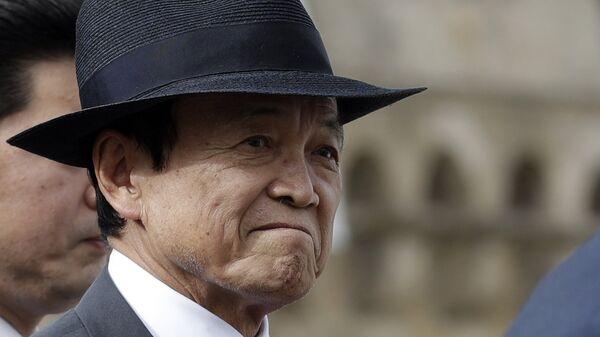 Вице-премьер и министр финансов Японии Таро Асо