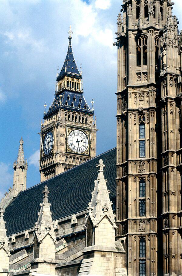 Лондон. Вестминстерский дворец. Архив