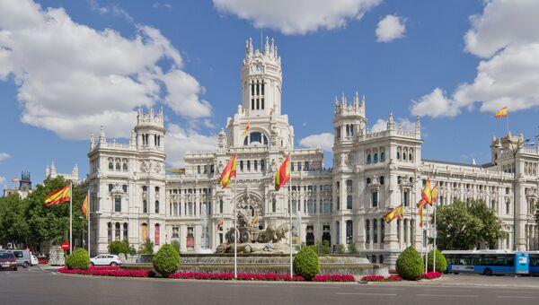 Дворец Сибелис в Мадриде. Архивное фото