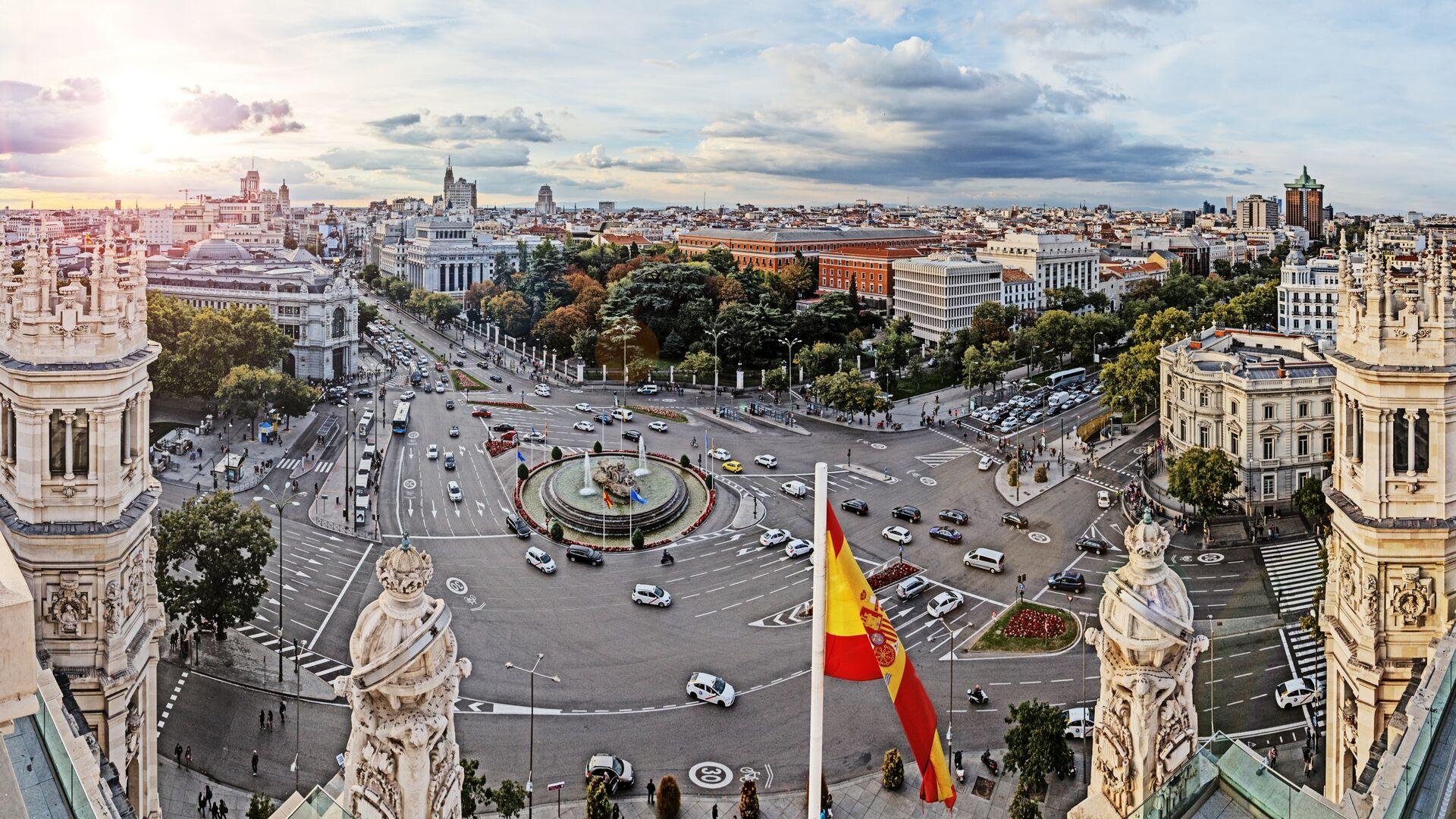 Площадь в Мадриде - РИА Новости, 1920, 06.05.2021