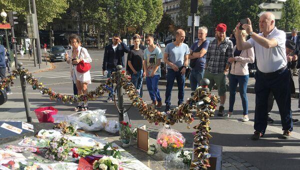 Место гибели принцессы Дианы в Париже