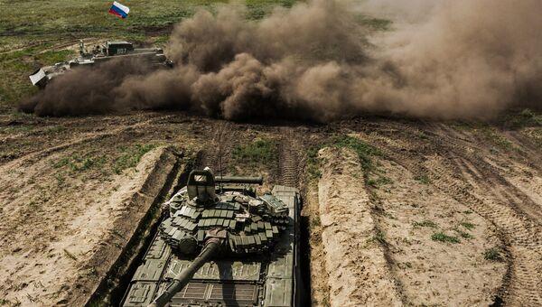Армейские международные игры Рембат в Омской области. Архивное фото