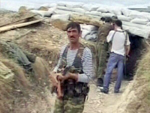 Грузино-осетинский конфликт: Цхинвальский район под обстрелом Грузии