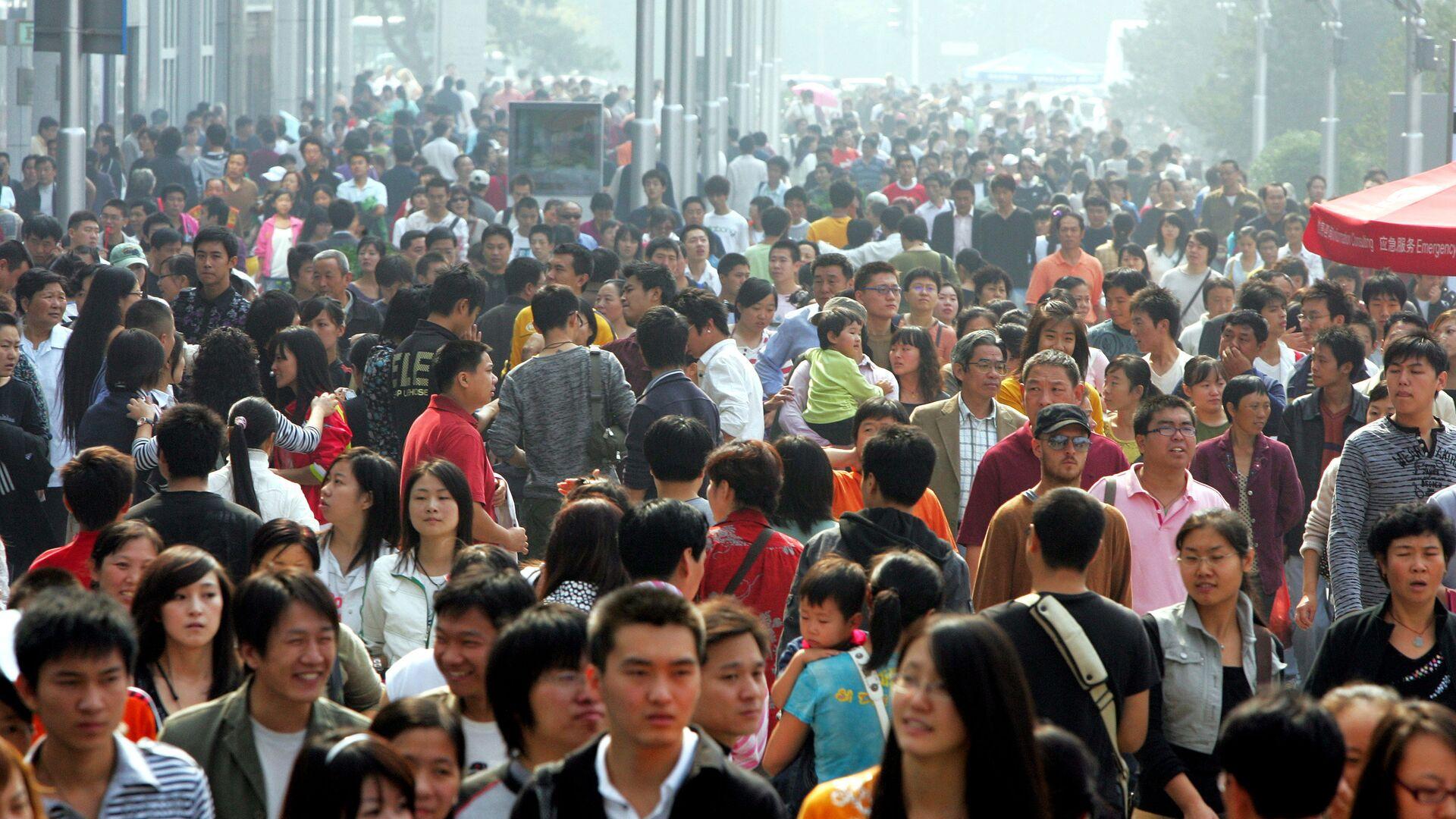 Население Китая превысило 1,4 миллиарда человек - РИА Новости, 17.01.2020