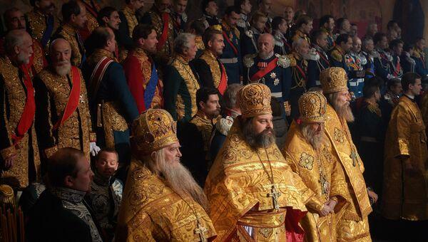 Актеры массовых сцен на съемках фильма Алексея Учителя Матильда