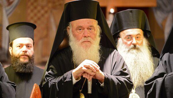 Блаженнейший Архиепископ Афинский и всея Эллады Иероним. Архивное фото