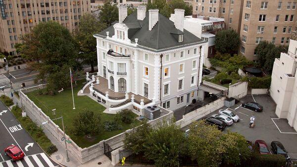 Здание российского торгового представительства в Вашингтоне
