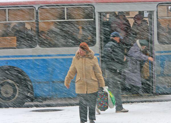 Непогода в Москве