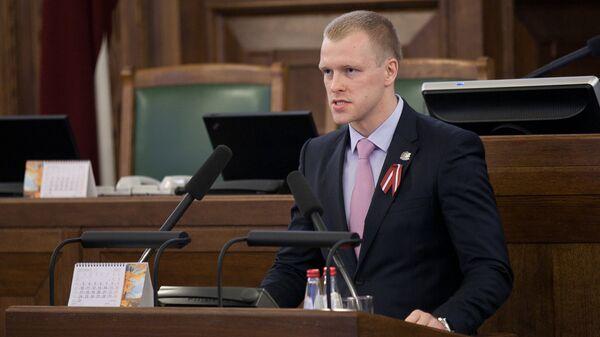 Депутат сейма Латвии Андрей Элксниньш