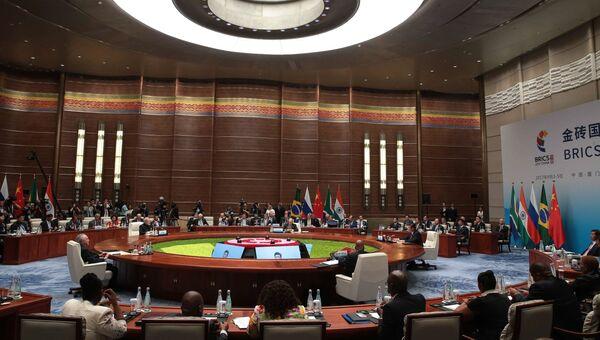 Встреча лидеров БРИКС. 4 сентября 2017