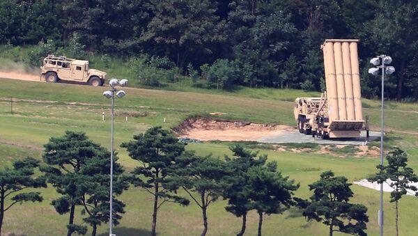 Американский комплекс ПРО THAAD в Южной Корее. Архивное фото