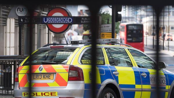 Полицейский автомобиль в Лондоне. Архивное фото