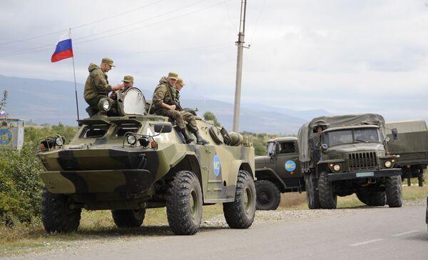 Российские миротворцы в Южной Осетии