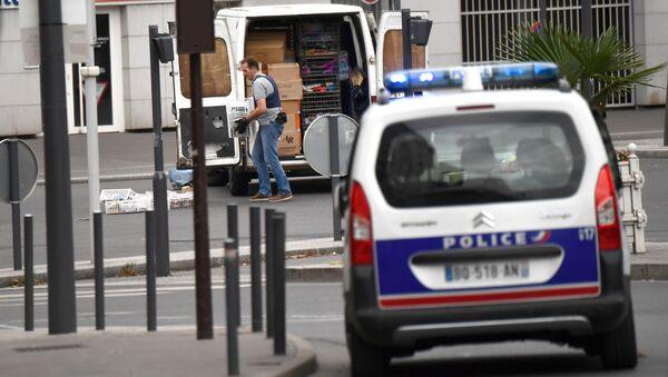 Полиция во Франции. Архивное фото
