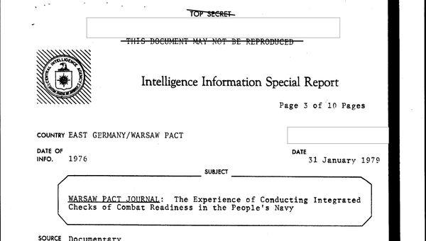Рассекреченные материалы ЦРУ о советском ВМФ в период холодной войны