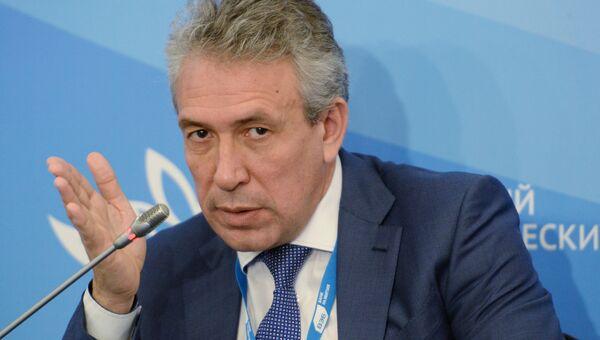 Глава Внешэкономбанка Сергей Горьков на Восточном экономическом форуме во Владивостоке. 7 сентября 2017