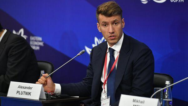 Генеральный директор АИЖК Александр Плутник на Восточном экономическом форуме. 6 сентября 2017