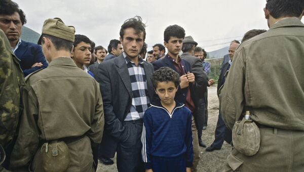 Армяно-азербайджанский конфликт карабах. Архивное фото
