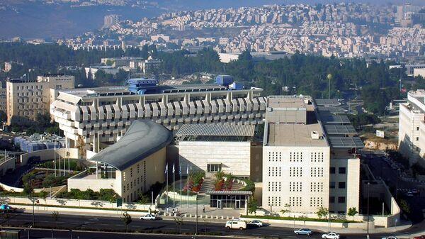 В итоге  взрыва вМИД Израиля пострадали несколько человек