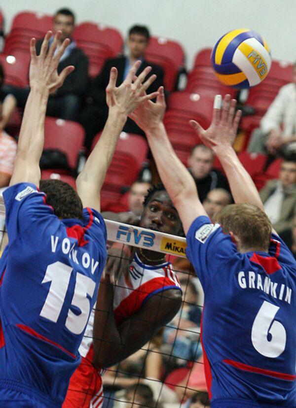 Мировая Лига по волейболу. Мачт с участием сборной России