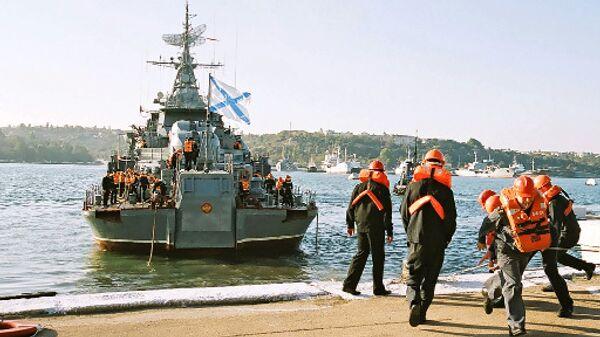 Сторожевой корабль Черноморского флота Пытливый. Архив