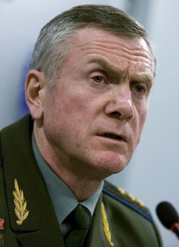 Генерал-полковник Анатолий Ноговицын