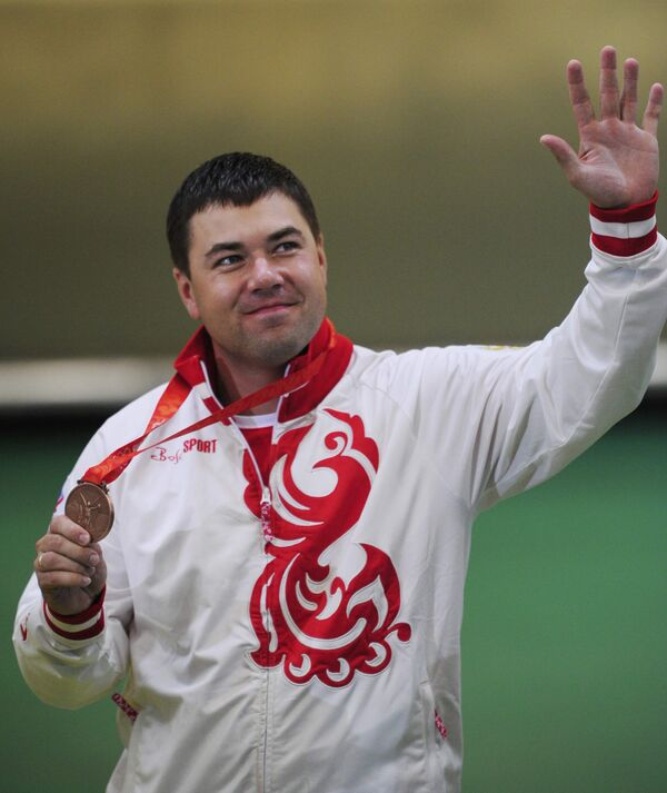 Алексей Алипов с бронзой Олимпиады